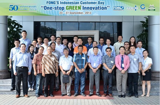 One-Stop GREEN Solution for FONG'S Indonesian Customers