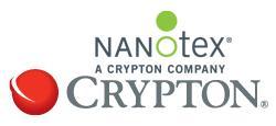 Crypton Inc and nanotex Logo