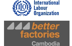 International Labour Organization and Better Factories Cambodia joint Logo