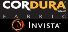 Cordura Brand Fabric and INVISTA Logo