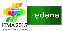 ITMA 2015 and EDANA Logo