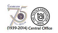 THE TEXTILE ASSOCIATION (INDIA)  Logo