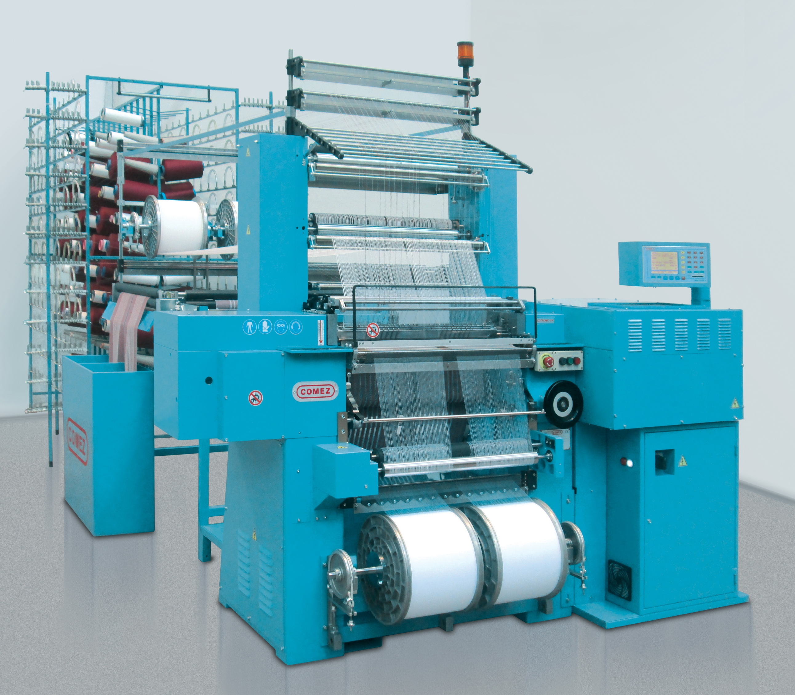 Knitting Machines Unlimited : Jakob muller ag exhibits variety of textile technology at