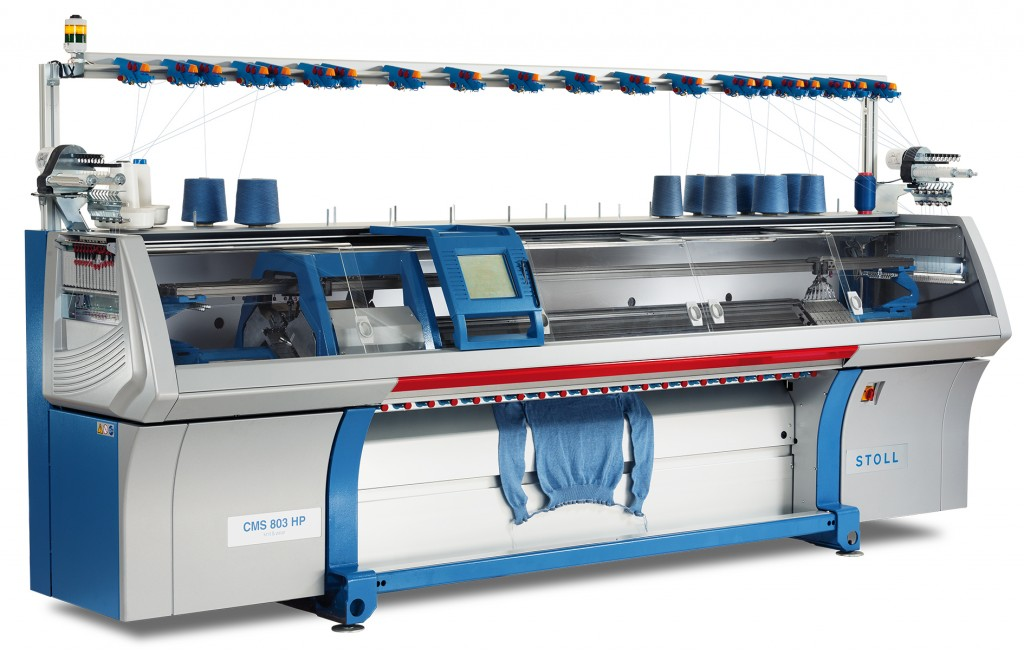 """Knitting Machines Unlimited : Stoll showcases cms range of knit and wear the """"cms"""