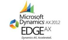 EdgeAX and Microsoft Dynamics AX 2012 Logo