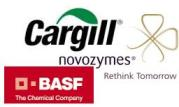 BASF and Cargill and Novozymes Logo
