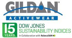 Gildan Activewear and Dow Jones Sustainability Logo