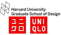 Harvard University Graduate School of Design and UNIQLO Logo