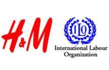 International Labour Organization (ILO) and H&M logo