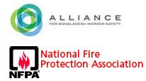 the National Fire Protection Association and Alliance Logo