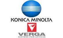 Konica Minolta and Verga Logo