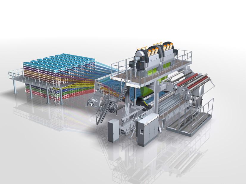 Range of Machines at ITMA Milan 2015