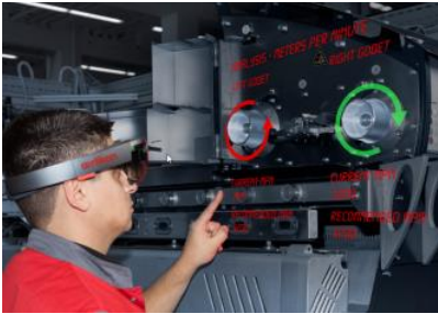 """Oerlikon Manmade Fibers segment is showcasing its Industrie 4.0 solutions true to the claim """"The Future is Now""""."""