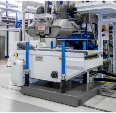 Oerlikon Neumag is premiering its new multifunctional forming table for its meltblown systems with a considerably reduced footprint and a shortened wire length that reduce maintenance costs