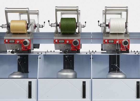 Allma TechnoCorder TC2 With even more flexibility in production, material and yarn count